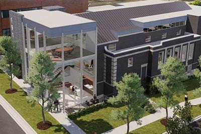 Surnow Redevelopment Of First Church Of Christ , Scientist, Birmingham, MI